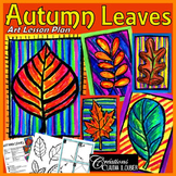 Autumn Art Activity and Lesson Plan for Kids: Autumn Leaves