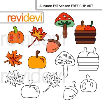 Autumn fall season clip art free