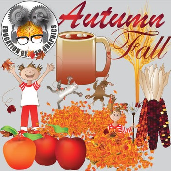 Autumn fall volume 1 for classroom and commercial use.