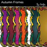 Autumn frames clip art. Free!