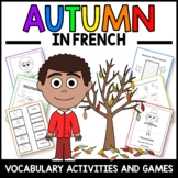 Autumn Activities and Games in French - L'automne  en Français