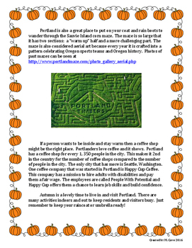 Autumn in Portland (Context Clues)