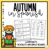 Autumn in Spanish Worksheets - El Otoño