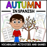 Autumn Activities and Games in Spanish - El Otoño