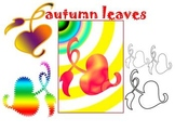 Fall - Autumn leaves - Clip Art - Personal or Commercial Use