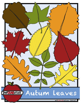 Autumn leaves Cliparts