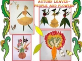Fall - Crafts - Autumn leaves - People - Flowers - PowerPoint presentation