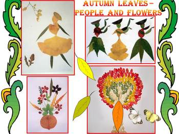 Fall - Crafts - Autumn leaves - People - Flowers - PowerPo