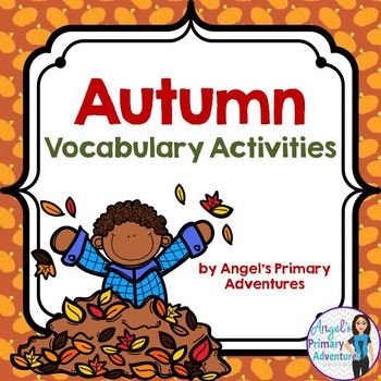 Autumn or Fall Vocabulary Activities