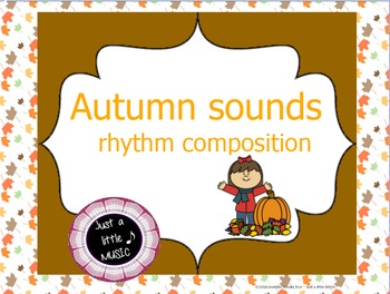 Autumn sounds--Rhythm composition for Activboards