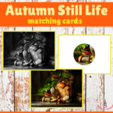 Autumn still life matching cards (2 activities)