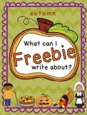 Autumn story starter FREEBIE