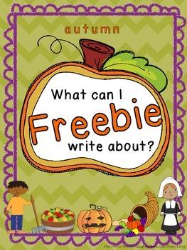 Autumn story starter FREEBIE