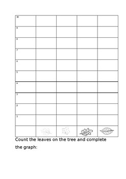 Autumn themed numeracy worksheets