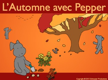 Autumn with Pepper in French
