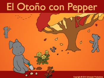 Autumn with Pepper in Spanish