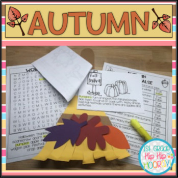 Autumn Leaves...Craft and Activities