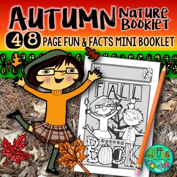 Fall/Autumn Nature Booklet {A booklet of activities celebr