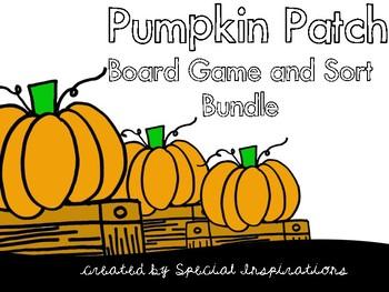 Pumpkin Patch Phonics Board Game Bundle