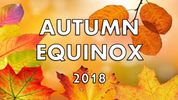 Autumnal Equinox Presentation / Lesson - Quiz, Activity,First Day of Fall,Autumn