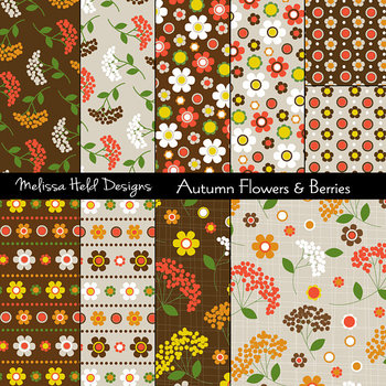 Autumnal Floral Patterns