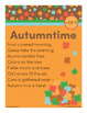Autumntime - orn Word Family Poem of the Week