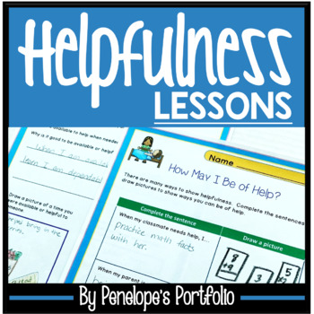 AVAILABILITY Character Education Packet