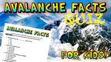 Avalanche Quiz!