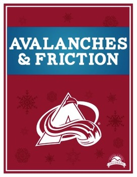 Avalanches & Friction Lab {Editable}