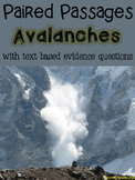 Avalanches Paired Passages with Text Based Evidence Questions