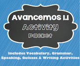 Avancemos 1 - 1.1 - 34 Page Activity Packet!!!