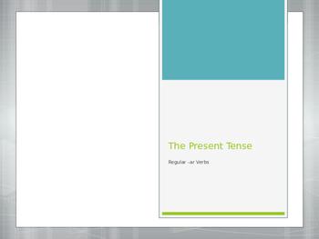Avancemos 1.2.1 Present Tense of -ar Verbs
