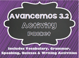 Avancemos 1 - 3.2 - 31 Page Activity Packet!