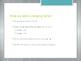 Avancemos 1.4.1 Stem-Changing Verbs e-ie
