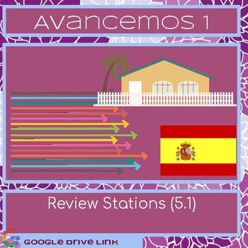 Avancemos 1 5.1 Review Stations