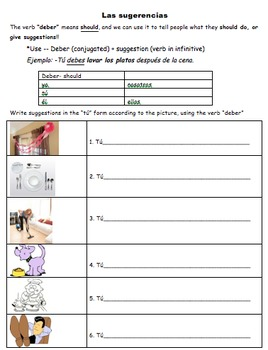 Avancemos 1 - 5.2 - 32 Page Activity Packet!