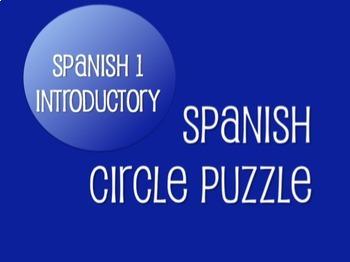 Avancemos 1 Bundle: Circle Puzzles