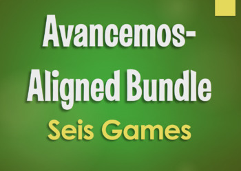 Avancemos 1 Bundle: Seis Games