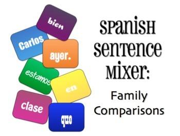 Avancemos 1 Bundle: Sentence Mixers