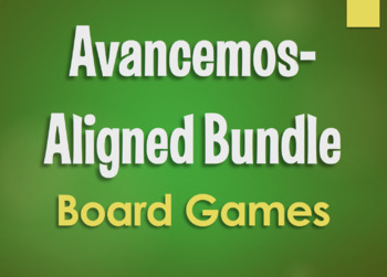 Avancemos 1 Bundle: Small Group Board Games