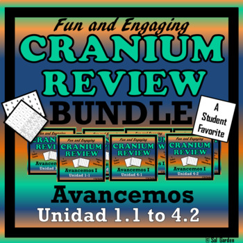 Avancemos 1 - Cranium Bundle - Units 1.1 through 4.2