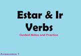 Estar and Ir Verb Notes
