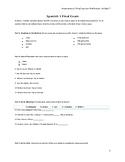 Avancemos 1 Final Exam