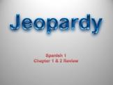 Avancemos 1 Jeopardy