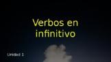 Avancemos 1 Lección 1: Infinitive verbs