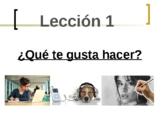 Avancemos 1 Leccion 1 Vocabulary presentation