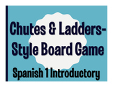 Avancemos 1 Lección Preliminar Chutes and Ladders-Style Game