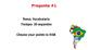 Avancemos 1, Leccion Preliminar - El Riesgo - Juego de Repaso
