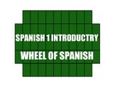 Avancemos 1 Lección Preliminar Wheel of Spanish
