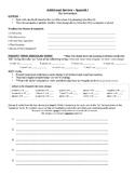 Avancemos 1: Year Review Worksheet